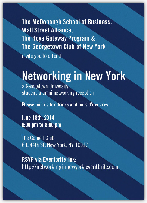 Networking in New York!